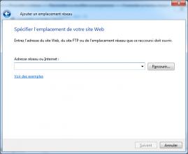 Methode OVH WebDAV Windows