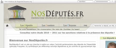 nosdeputes.fr regardscitoyens