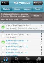Qobuz application mobile Android