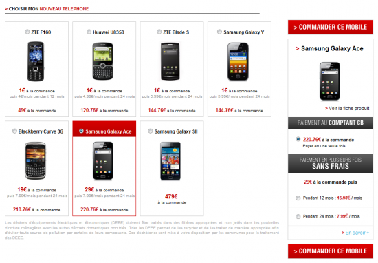 Free mobile le paiement en plusieurs fois sans frais est disponible - Achat telephone en plusieurs fois ...