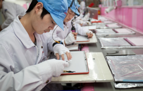 Apple usines Foxconn
