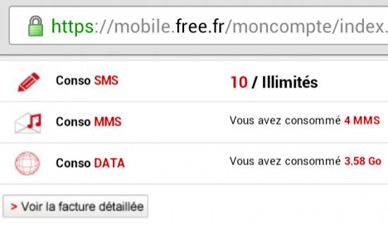 Free Mobile fair use
