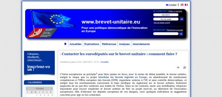 brevet unitaire européen APRIL