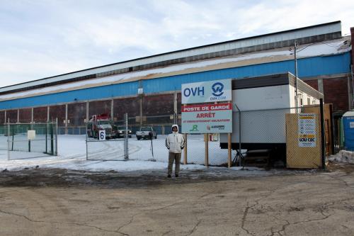 OVH Canada Montréal datacenter Beauharnois