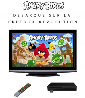 Angry Birds Freebox