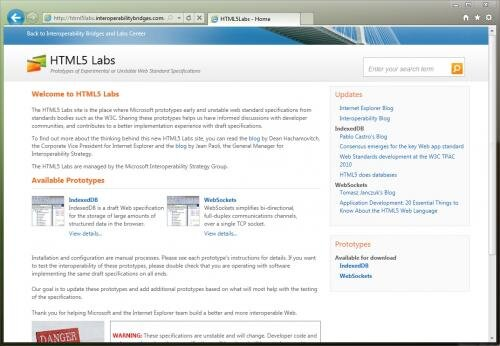 html5labs IE9