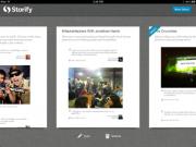 Storify iPad