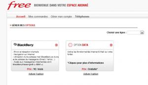 FRee Mobile espace client