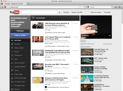 firefox youtube