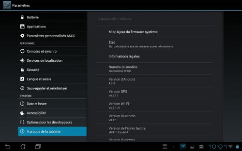 Screenshot Android 4.0.3 Eee Pad Transformer