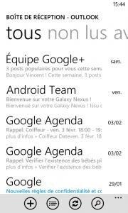 gmail windows phone