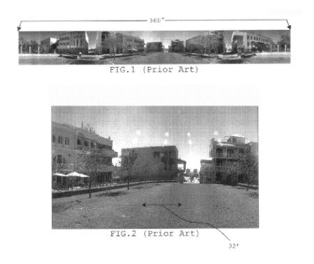 Brevet patent google apple street view panomap