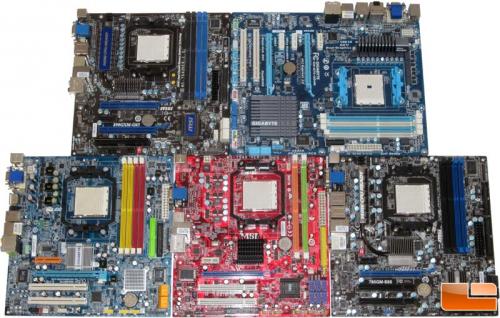 AMD cartes meres 2006 (Legit Reviews)