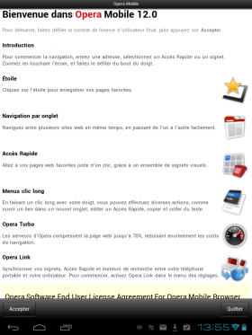 Google Opera 12 Android