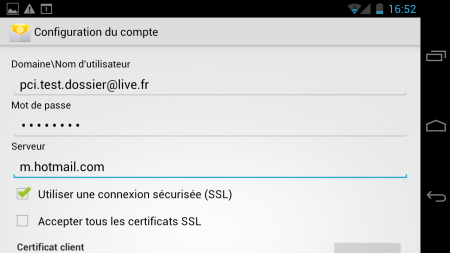 hotmail android
