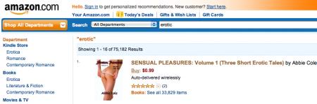 Amazon sexe