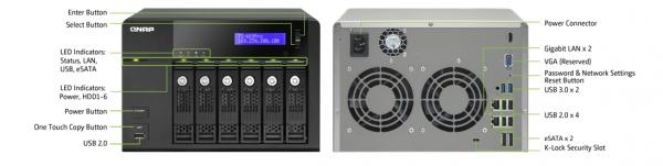 QNAP TS-x69 Pro NAS