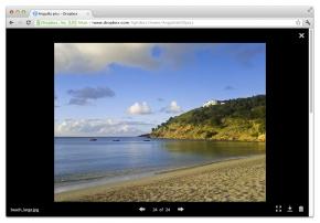 Dropbox site web