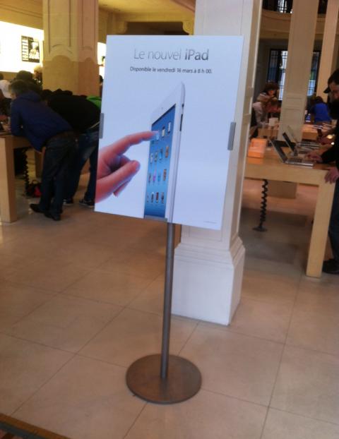 Apple Store Opera iPad 3