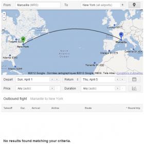 Google Flight Marseille New York