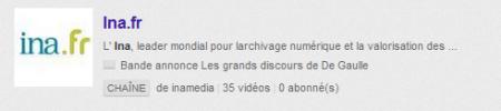 INA YouTube