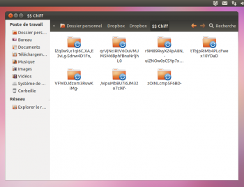 Dropbox chiffree Ubuntu EncFS