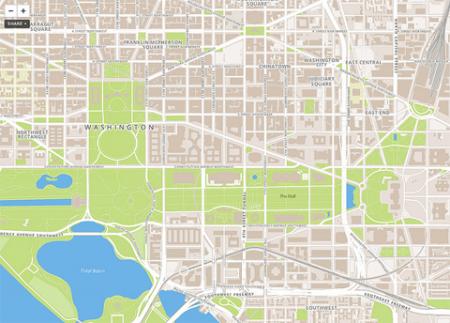 OpenStreeMap carte foursquare