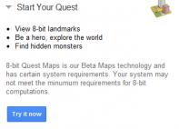 Google Maps 8-bits