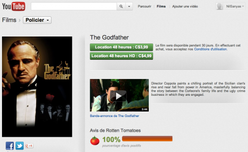 Le Parrain The Godfather YouTube