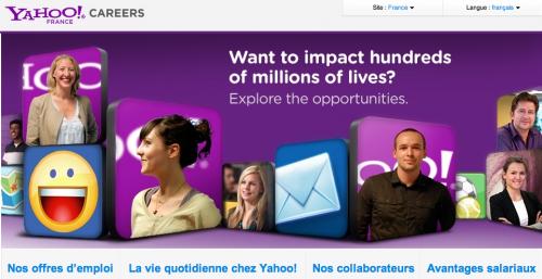 Yahoo emplois