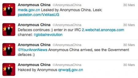 tweet anonymous china