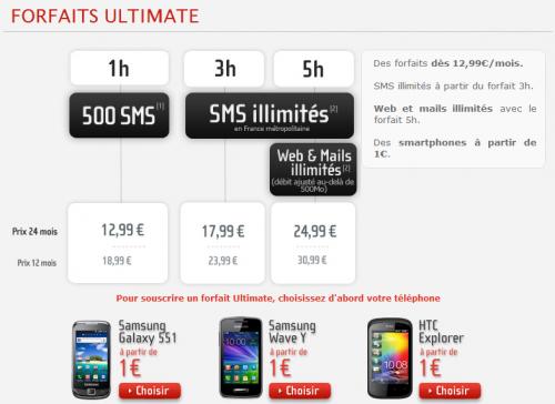 NRJ Mobile forfait ultimate