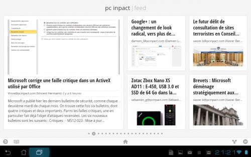 Google Flux PCi