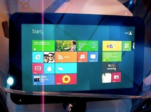 windows 8 win8 tablette intel