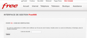 FreeWifi Hot Spot Freebox