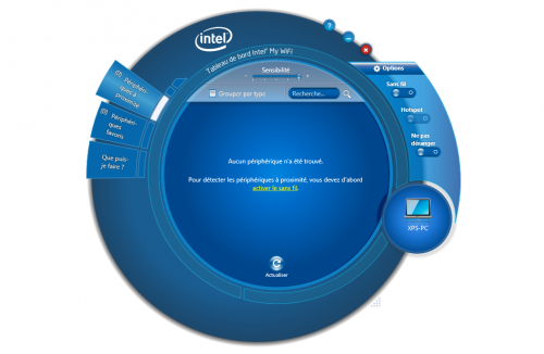 Intel MyWiFi Dashboard
