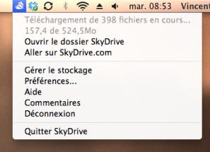 SkyDrive OS X