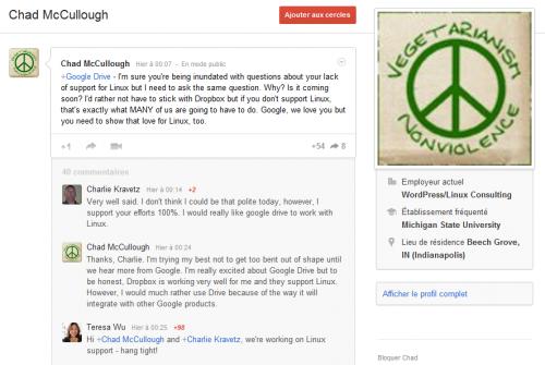 Google Drive Linux Teresa Wu