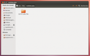 Owncloud WebDAV