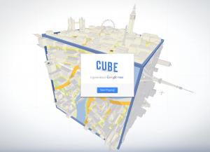 Cube Google IE9