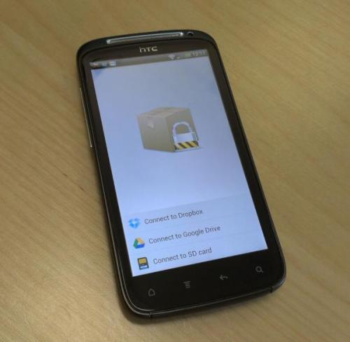 BoxCryptor Android Google Drive