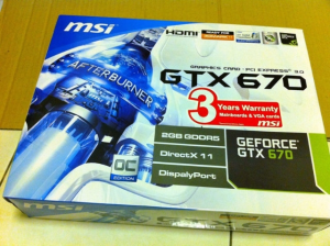 GeForce GTX 670 MSI MyDrivers