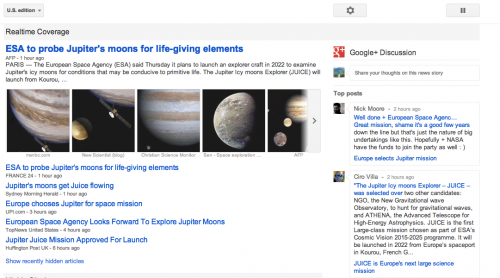 Google News Google Plus