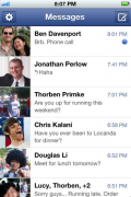 Facebook Android Messenger ios android