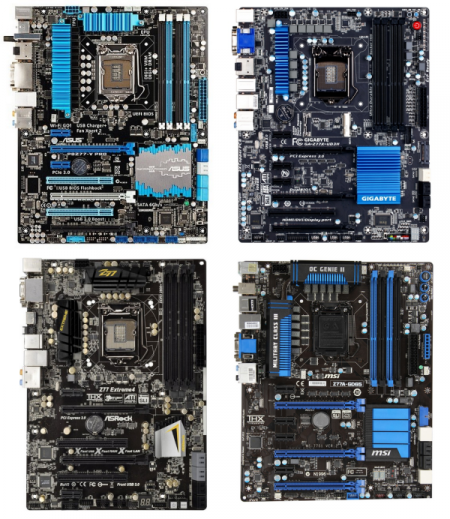 comparatif Z77 anandtech