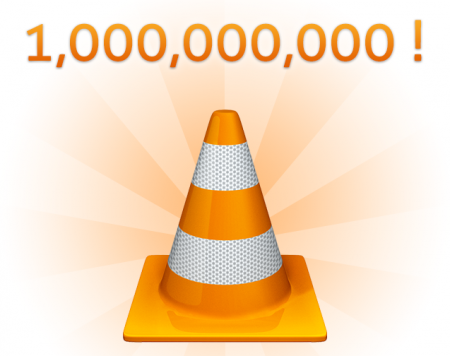VLC VideoLAN 1 milliar telechargement