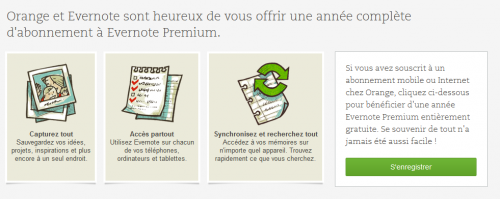 Evernote Premium Orange