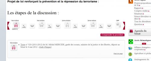 projet loi consultation habituelle site terroriste
