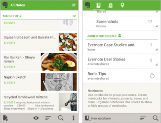 Evernote 4.0 Android