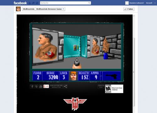 Wolfenstein 3D Facebook